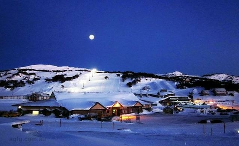 View of Perisher Village from our Mountain View Rooms. Photo courtesy of our guest, Turo Chiodo
